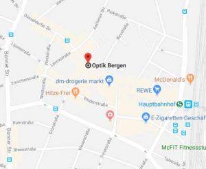 Lageplan Optik Bergen